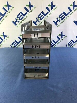 Stainless Steel Freezer Rack L 16.75x W 5.5x H 12 W 5 Levels-1 Shelf Loose
