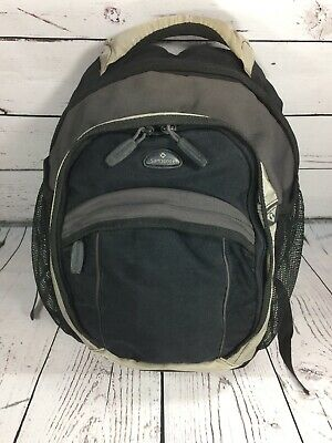 "Samsonite Black and Gray Backpack Fits 17"" Laptop Back Pack Bag"