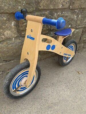 *The John Crane Tidlo*Wooden Balance Bike Very Good Used Condition S65 Rotherham