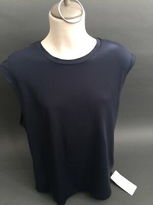Lululemon FUTURE CLASSIC MUSCLE T Tank Men's BLUE Shirt Sleeveless Top Size XL