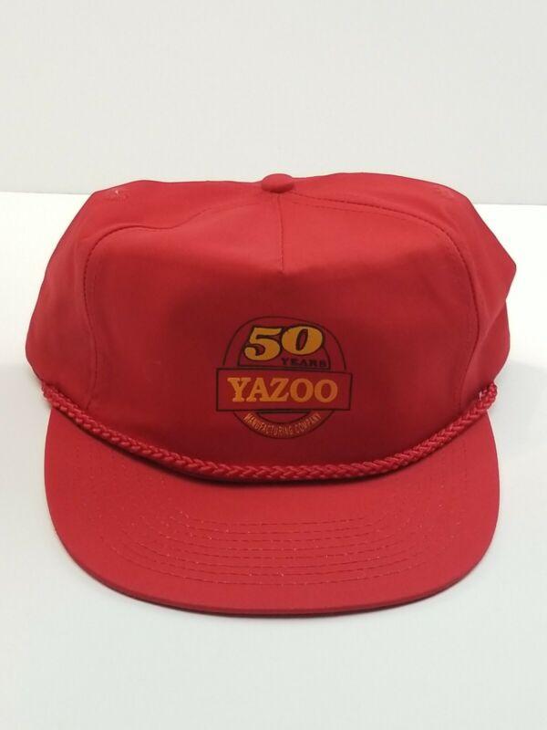 Vintage Yazoo Snapback Trucker Hat  ** Yazoo Manufacturing 50 Years