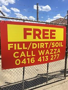 Free soil sand fill Carlton Kogarah Area Preview