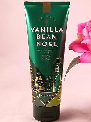 Bath and Body works VANILLA BEAN NOEL Ultra Shea Body CREAM  lotion 8 Fl oz *NEW ()