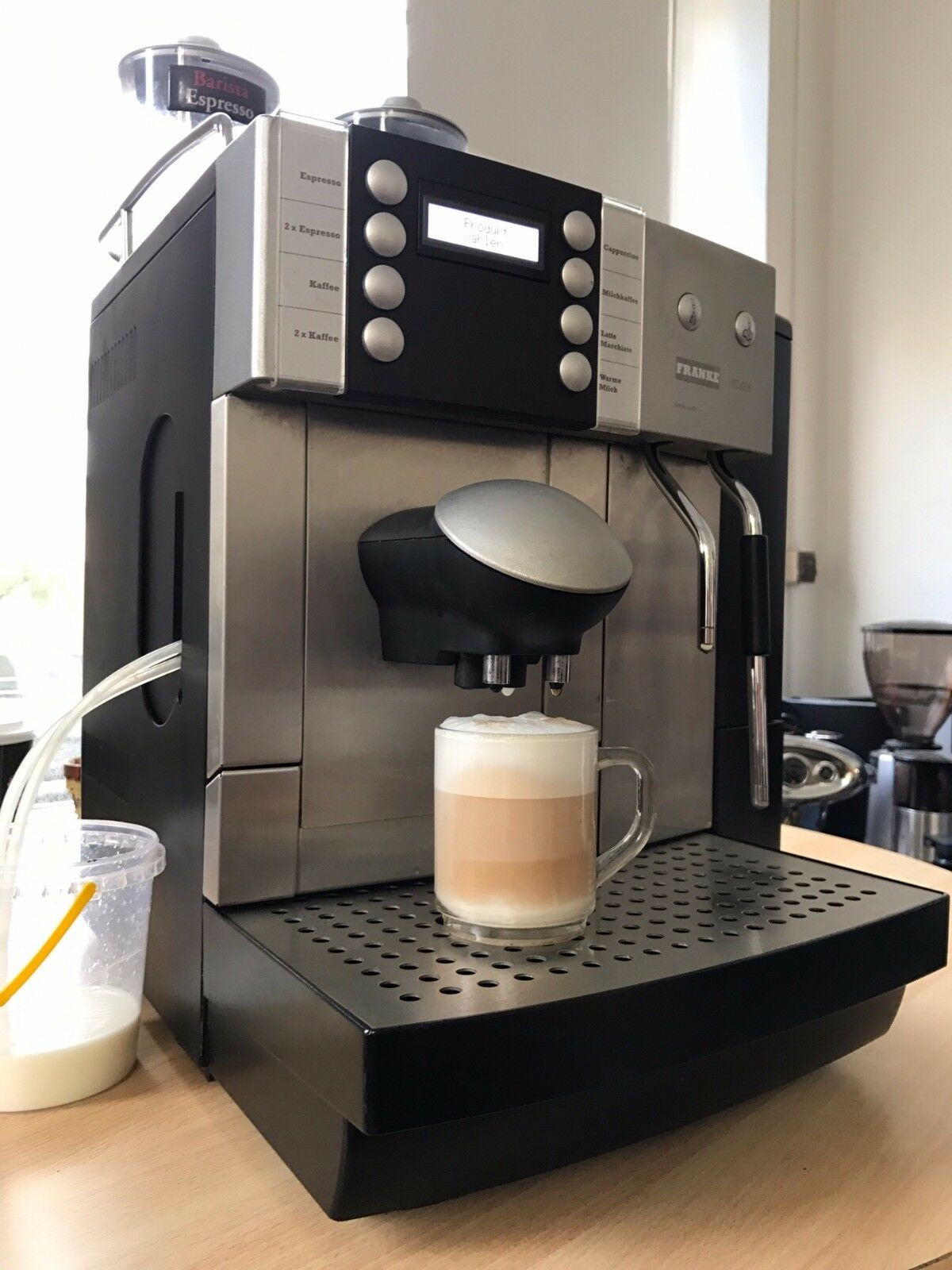 NEU! Blitz Wartung für Franke Flair Kaffeevollautomat Reparatur und Service.