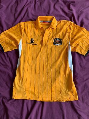 **  OFFICIAL DUMBARTON HOME FOOTBALL SHIRT - SIZE 8-9 YEARS ** image