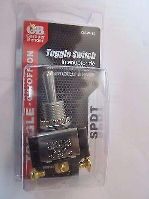 Toggle Switch Gardner Bender Gsw-13 Spdt Onoffon  New