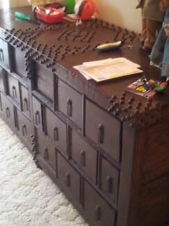 Hall chest Antique