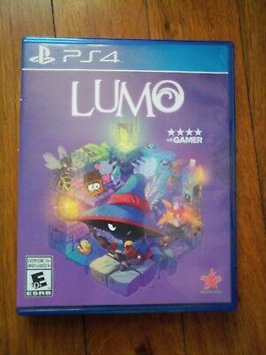 Lumo (Sony PlayStation 4, 2016) Used