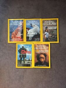 5 Magazines National Geographic 2006