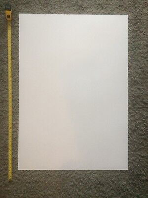 Plastic card poster sheet. Great for large Alcohol ink painting.