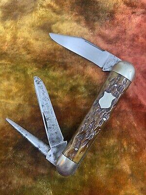 KEEN KUTTER THREE SPRING WHITTLER KNIFE