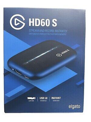 Elgato Game Capture HD60-S Xbox One/PS4/Wii USB 3.0 1080p60 HDMI Stream & Record