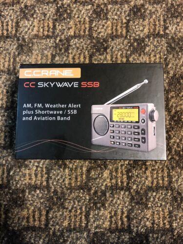 C. Crane CC Skywave SSB AM, FM, Shortwave, NOAA Weather + Al