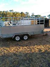 Heavy Duty 14x6 3.2 tonne GVM Tandem Trailer with custom crate!! Dubbo Dubbo Area Preview