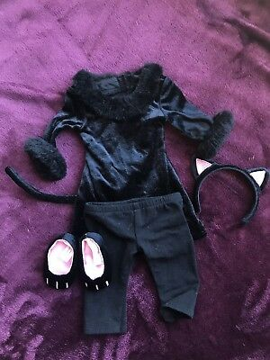 American Girl Black Kitty Cat Outfit Costume Retired Halloween - Black Outfit Halloween