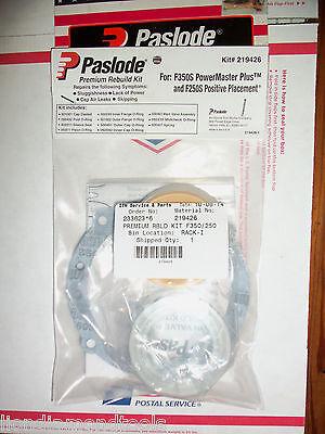 """""""Authentic"""" Paslode Part # 219426  F350S & F250S PREMIUM REBUILD KIT"""