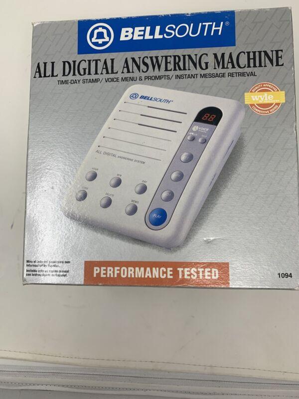 Bellsouth Digital Answering Machine Model 1094 Original Box