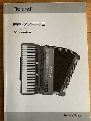 Roland FR-7 / FR-5 V-Accordion Owner's Manual