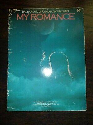 Standard Organ: MY ROMANCE ... Hal Leonard Organ Adventure Series #14 - Hal Leonard Organ
