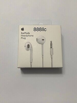 OEM Genuine Apple EarPods White In Ear Headsets - MNHF2ZM/A Fast Shipping