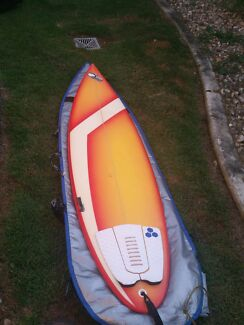 "Surfboard with fcs fins, leg rope and bag - 6'6"" Arundel Gold Coast City Preview"