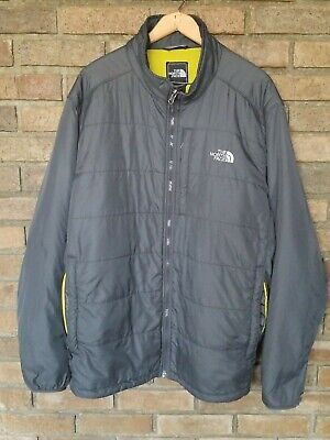 The North Face Men's jacket insulated Gray Medium Weight XXL 2XL FLAWLESS