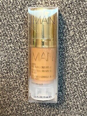 IMAN Luxury Concealing Foundation - Clay 2
