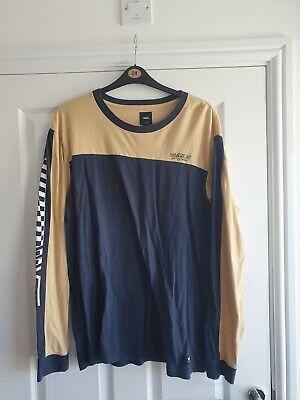 Mens Vans Long Sleeve T Shirt Size Xl