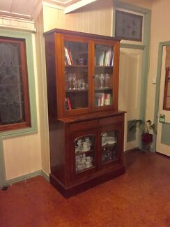 Antique Buffet Display Cabinet