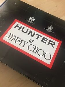 Limited Edition Authentic Jimmy Choo & Hunter Boots
