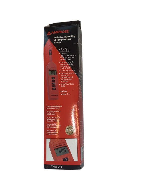 Amprobe THWD-3 Relative Humidity Temperature Meter