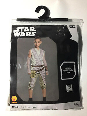 Disney Star Wars The Force Awakens Rey Child Costume Medium Size 8-10