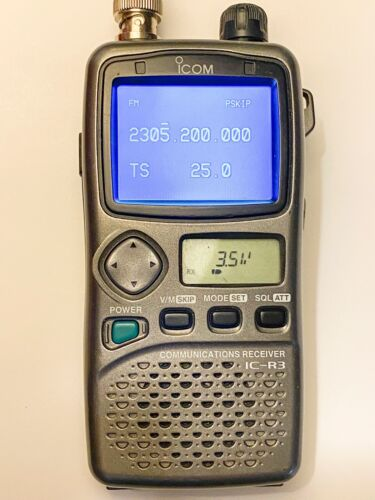 Icom IC-R3 Wideband Communications Receiver