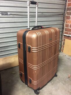 Large Hard Case Suit Bronze 6000 Negotiable Wetherill Park