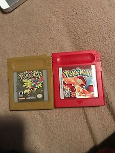 Pokemon Red and Gold