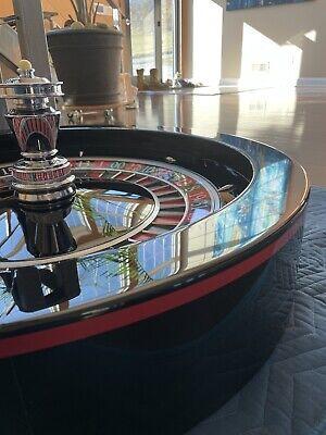 "32"" Paulson casino roulette wheel"