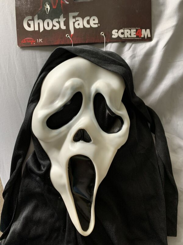 Scream 2 3 4 Mask 2010 Fun World Ghost Face Ghostface Easter Unlimited