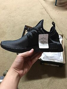 Adidas nmd xr1 triple black size 9 Kirrawee Sutherland Area Preview