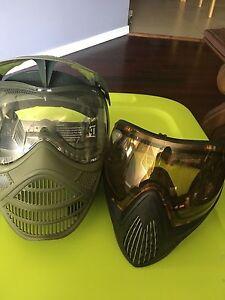 Paint ball masks