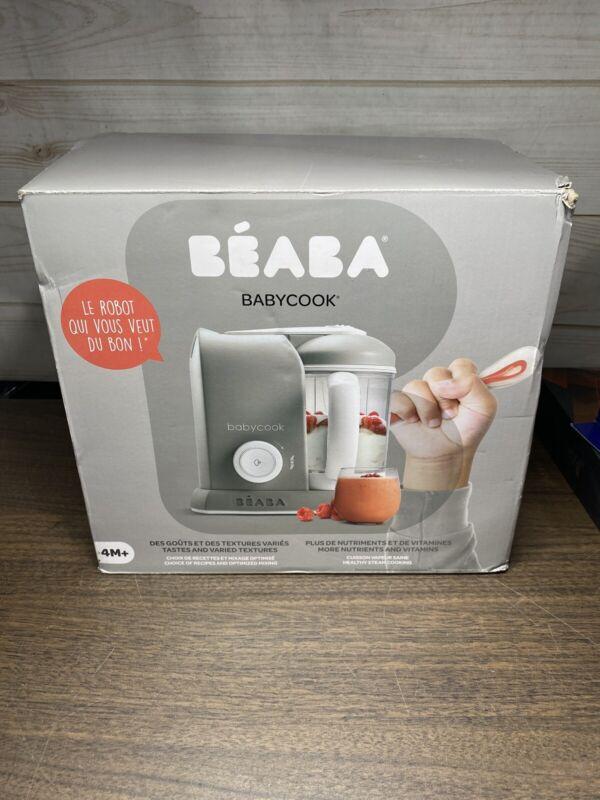 BEABA Babycook 4 in 1 Steam Cooker & Blender and Dishwasher Safe