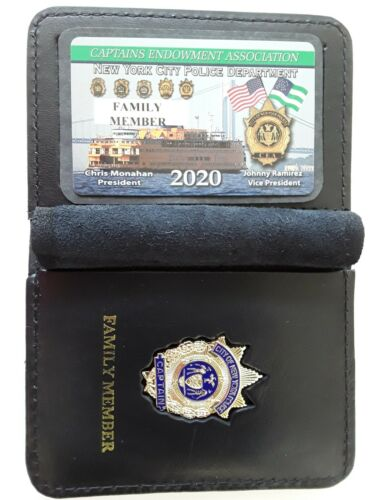 1 2020 CEA CAPTAIN FAMILY MEMBER CARD WITH LEATHER  WALLET NOT DEA LBA SBA  PBA