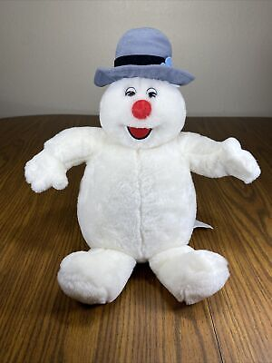 Gemmy Animated Frosty The Snowman Singing Christmas Plush