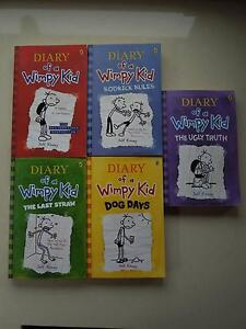 DIARY OF A WIMPY KID - SET OF 5 BOOKS Springwood Blue Mountains Preview