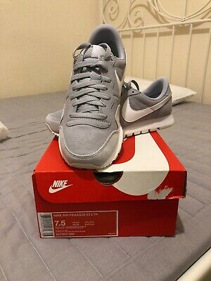 Nike Air Pegasus 83 LTR UK 6,5 Wolf Grey White Pure Platinum 827922-002