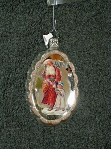Inge Glas Santa Ornament - Welcome St. Nik