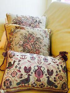 """Cushions """"Sussex House"""" , suit antique chairs, vintage Fremantle Fremantle Area Preview"""