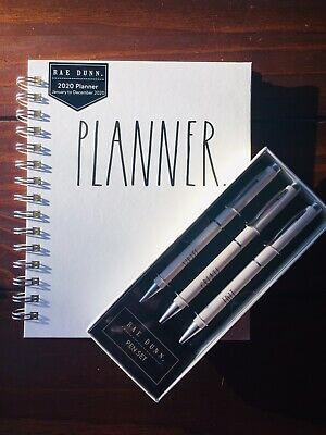 New Rae Dunn 2020 Desk Set Planner Pen Set Calendar Planner Write Create Edit