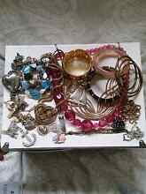 Mixed costume jewelry Adamstown Newcastle Area Preview