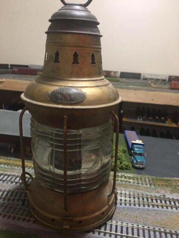 National Marine Lamp Co. Vintage Lantern Triplex