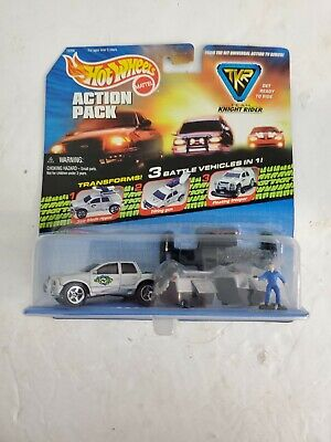 TEAM KNIGHT RIDER 1998 HOT WHEELS ACTION PACK 2S